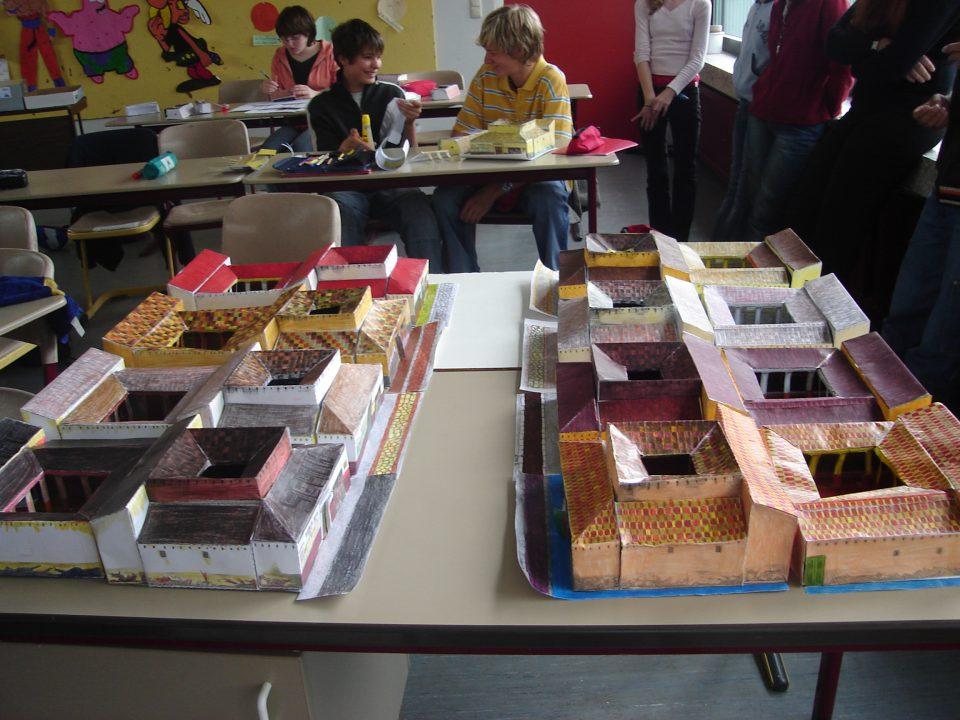 Bau Römervilla