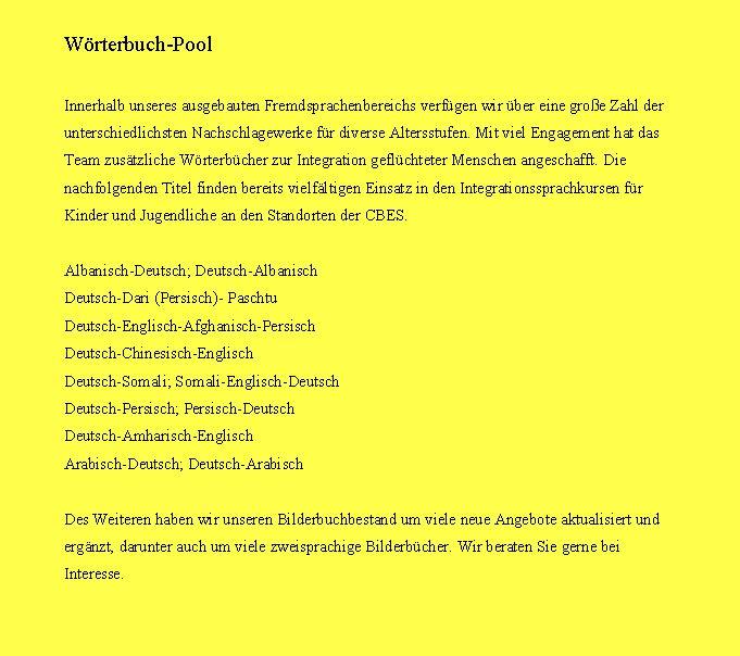 Wörterbuch Pool