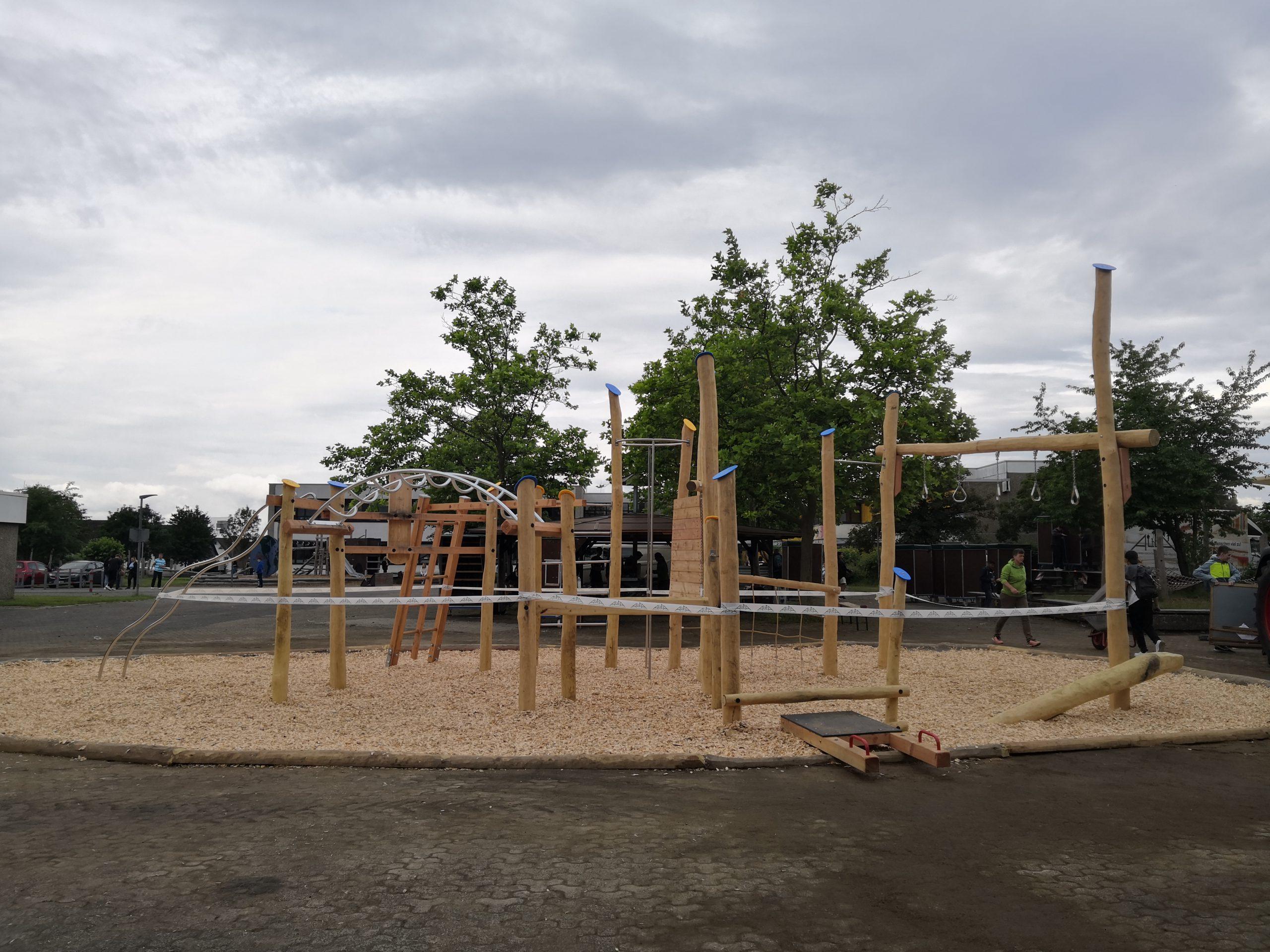 DIY: CBES baut – Schulhofprojekt Teil II